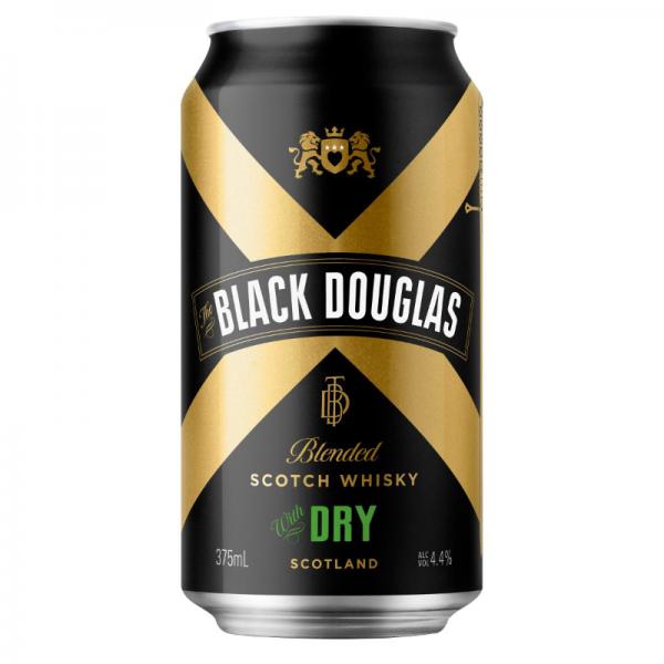 Black Douglas 2019pack Dry Can Shot