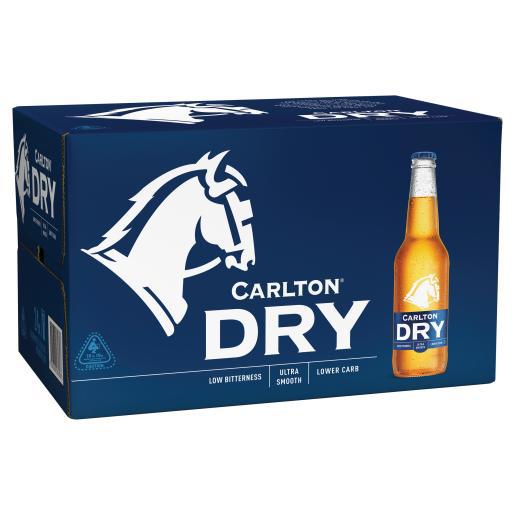 Carlton dry Ctn