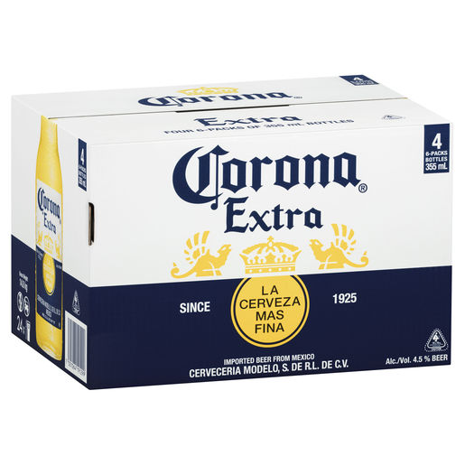 Corona Extra Case Bottles 355ml AU