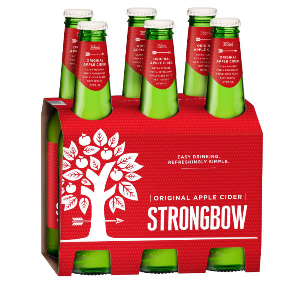 Strongbow Classic 2019Pack 6Pack Shot