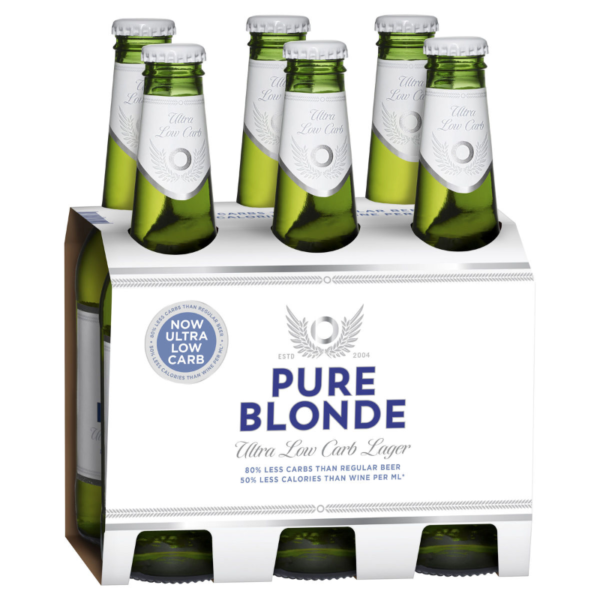 pure blonde 6 pack
