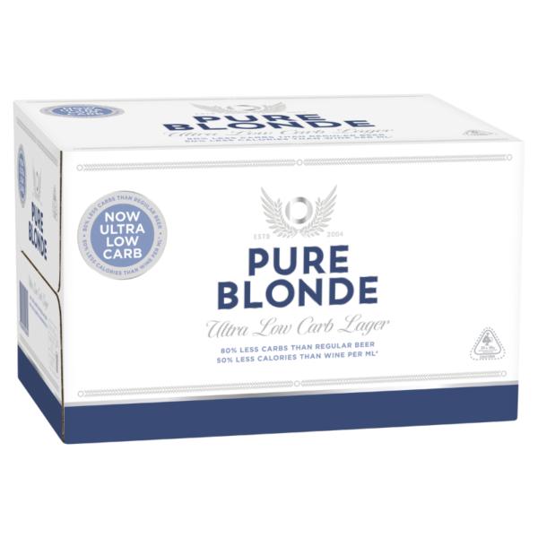 pure blonde carton