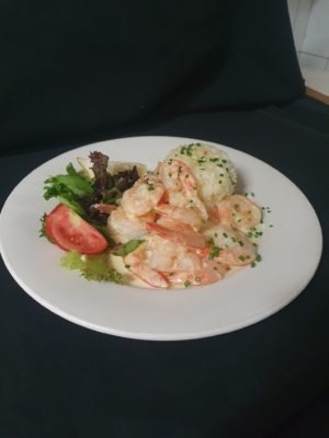 Garlic Prawns Main