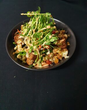 Roasted Cauli and Walnut Salad